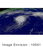 #10041 Picture Of Hurricane Irene