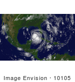 #10105 Picture Of Hurricane Katrina