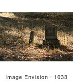 #1033 Photography of Gravestone in a Cemetery by Kenny Adams
