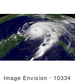 #10334 Picture Of Hurricane Ivan