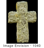 #1040 Photography of a Concrete Christian Cross by Kenny Adams