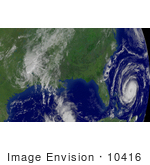 #10416 Picture Of Tropical Depression Ivan Hurricane Jeanne