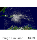 #10469 Picture Of Tropical Depression Six