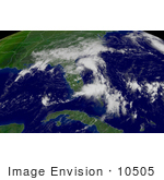 #10505 Picture Of Tropical Depression Henri