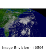 #10506 Picture Of Tropical Depression Henri