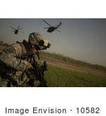 #10582 Picture Of An Army Soldier