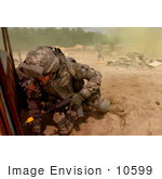 #10599 Picture Of A Soldier During Military Training