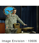 #10606 Picture Of A Man With Body Armor