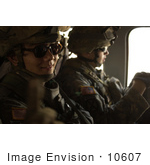 #10607 Picture Of Soldiers In A Helicopter