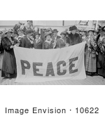 #10622 Picture of Jane Addams and Other Peace Delegates by JVPD
