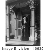 #10635 Picture Of Susan B Anthony In 1900