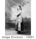 #10651 Picture Of Maude Adams In 1898