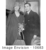 #10683 Picture Of Irving Berlin And Ellin Mackay