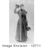 #10711 Picture Of Nellie Bly In 1890