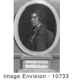 #10733 Picture Of Edmund Burke