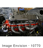 #10770 Picture Of A Big Block Engine