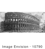 #10790 Picture Of The Roman Colosseum