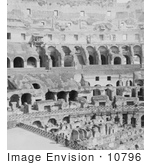 #10796 Picture Of The Roman Colosseum Dens And Arcades