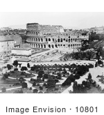 #10801 Picture Of The Roman Colosseum Italy