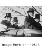 #10813 Picture Of Woodrow Wilson Warren G Harding Philander Knox And Joseph Cannon