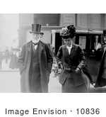 #10836 Picture of Andrew Carnegie And His Wife by JVPD