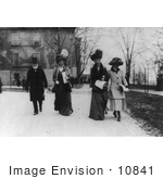 #10841 Picture of Andrew Carnegie With Wife and Family Members by JVPD