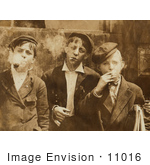 #11016 Picture of Newsie Boys Smoking by JVPD