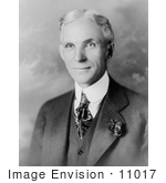 #11017 Picture of Henry Ford in Suit by JVPD
