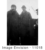 #11018 Picture of Henry Ford in Coat and Hat by JVPD