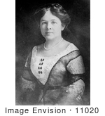 #11020 Picture of Clara Ala Bryant, Mrs Henry Ford by JVPD