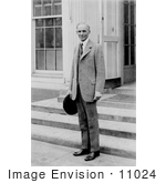 #11024 Picture of Henry Ford at the White House by JVPD