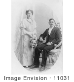 #11031 Picture Of A Bride And Groom Portrait