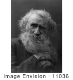 #11036 Picture Of An Old Man'S Face