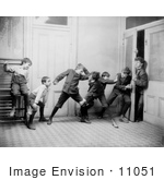 #11051 Picture Of A Children Blocking A Teacher Out Of A Room