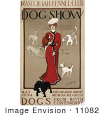 #11082 Picture Of A Vintage Dog Show