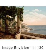 #11130 Picture Of A View Of Amalfi