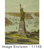 #11149 Picture Of The Liberty Enlightening The World