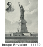 #11159 Picture Of The Bartholdi Statue Of Liberty