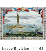 #11163 Picture Of Liberty Enlightening The World Statue Of Liberty