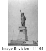 #11168 Picture of the Statue of Liberty, 1886 by JVPD