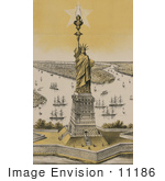 #11186 Picture Of Liberty Enlightening The World