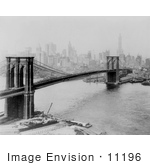 #11196 Picture Of The Brooklyn Bridge