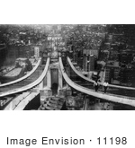 #11198 Picture Of Constructing The Manhattan Bridge