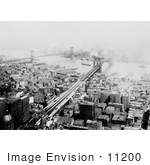 #11200 Picture Of Brooklyn And Manhattan Bridges
