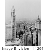 #11204 Picture Of The Woolworth Building In Manhattan