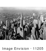 #11205 Picture Of A View Of New York City In 1932