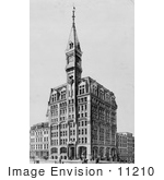 #11210 Picture Of The Tribune Building