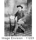 #11223 Picture of William Frederick Cody (Buffalo Bill) by JVPD
