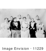 #11229 Picture Of Frances Cleveland And The Ladies Of The Cabinet