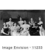 #11233 Picture Of Ladies Of The Cabinet In 1897